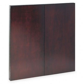 Mayline CTMBMAH Corsica Series Veneer Dry Erase Presentation Board, 48 x 48, Mahogany Frame (Door Frame Mahogany)