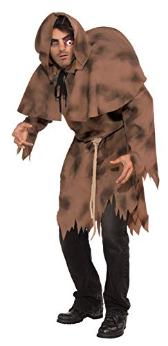 Forum Novelties Men's Adult Hunchback Costume, Brown, One Size