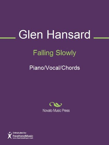 Falling Slowly Sheet Music Pianovocalchords Kindle