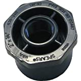 Spears 838-248 PVC Schedule 80 Flush Reducer Bushings, Spigot and FIPT, 2-Inch by 3/4-Inch