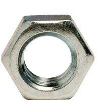 3/8''-16 Hex Jam Nuts, Steel, Zinc Plated (Quantity: 4000)