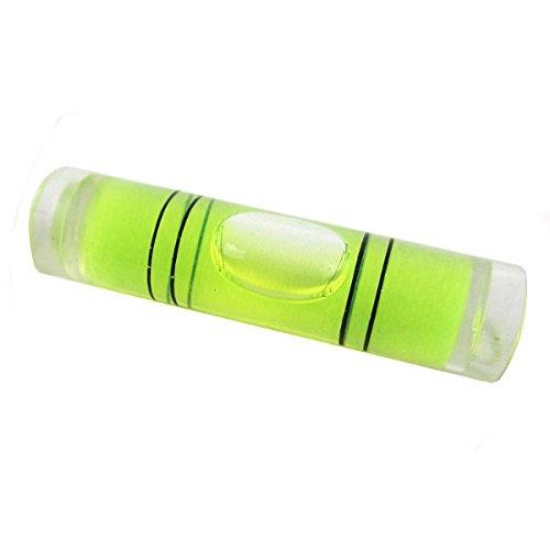 Bluelover 5PCS medici/ón Normal Transparente Burbuja Columna de Burbujas del Nivel de Alcohol