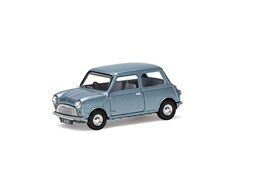 Corgi VA01317 BMW and BMH Se7en Deluxe Vanden Plas Mini Lord Daughter Irene Austin Model, Princess Blue-Grey Metallic
