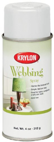 Krylon Webbing Spray Faux Finish - Finish Faux Spray