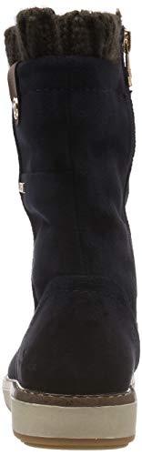 Bleu navy Femme Tailor Souples Bottes Bottines amp; 00003 5892707 Tom 8qS0BS