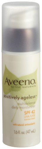 Aveeno Positively Ageless Daily Moisturizer SPF 42 + Antioxidants, 1.6-Ounces