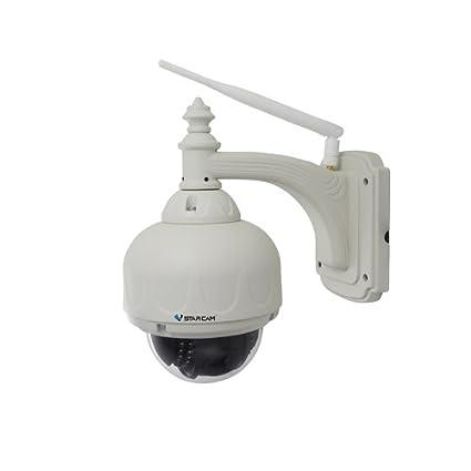 SUNNY-MERCADO Cámara VStarcam C7833WIP P2P al aire libre Domo PTZ WiFi 1MP HD 720P