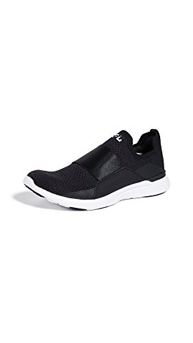 APL: Athletic Propulsion Labs Women's Techloom Bliss Sneakers, Black/Black/White, 7.5 M US