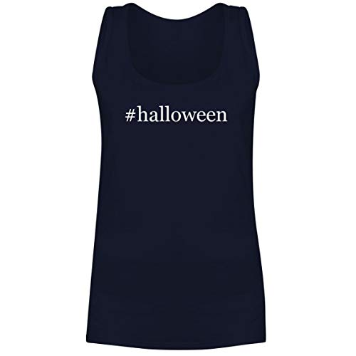 The Town Butler #Halloween - A Soft & Comfortable Hashtag Women's Tank Top, Navy, Small]()