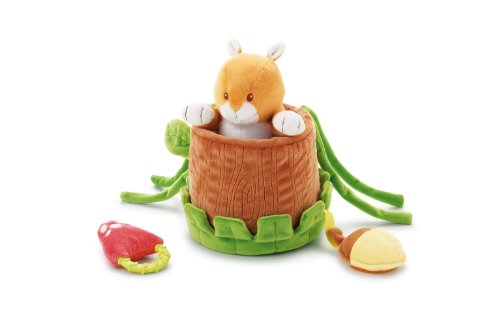 Trudy Toys (Trudy 18.5 cm Squirrel Activities Infant Toys)