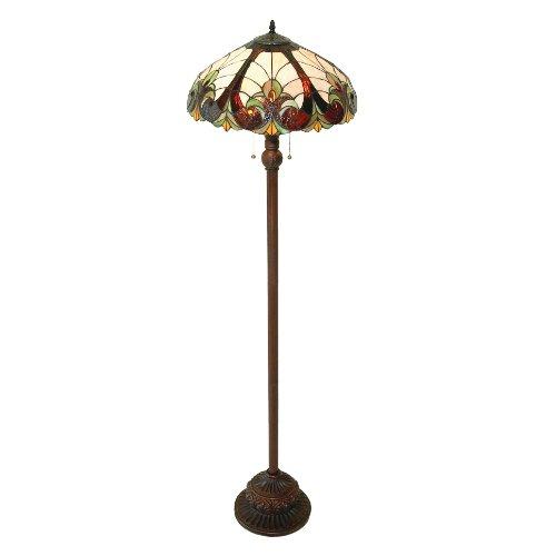 Chloe Lighting CH18780FL 2 Light Victorian Floor Lamp