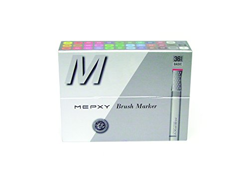 Mepxy Brush Marker Set of 36color - Basic by Mepxy Art