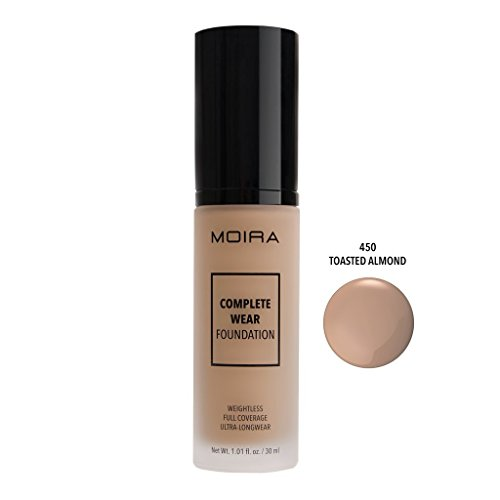 MOIRA COMPLETE WEAR FOUNDATION (TOASTED ALMOND)