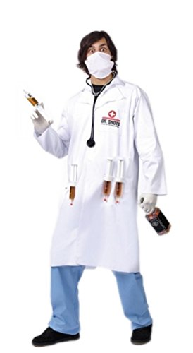 Adult Dr. Shots Costume - Humorous Naughty