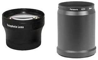 Panasonic DMC-FZ72 Tube Adaptor Bundle for Panasonic DMC-FZ70 TelePhoto Lens Panasonic DMC-FZ70K