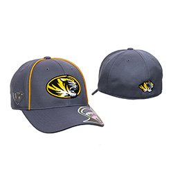 Missouri Tigers Grey Memory Fit Baseball Hat