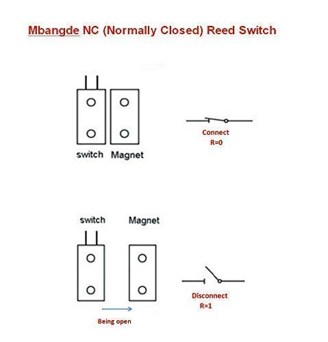 Magnetic Reed Switch Wiring Diagram Door Chime on