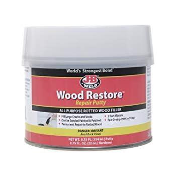 J B Weld 40005 Wood Restore Premium Epoxy Putty Kit 12