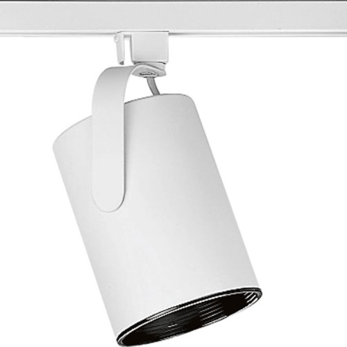Progress Lighting P9206-28 Alpha Trak Flatback, Bright White by Progress Lighting