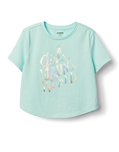 Gymboree Little Girls' Active Graphic Tee, Sweet Mint, XS