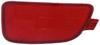 Partslink Number NI2557101 OE Replacement Nissan//Datsun 350Z Front Passenger Side Reflector