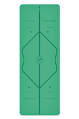 Liforme Yogamatte Grün 4,2 MM - 2,5 KG (Inkl. Tragetasche)