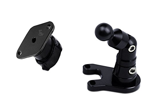 Techmount 4-21007-DIAMOND - BMW Motorcycle Control Mount - Ram-Mount – Interfaces with all Ram-Mount cradles