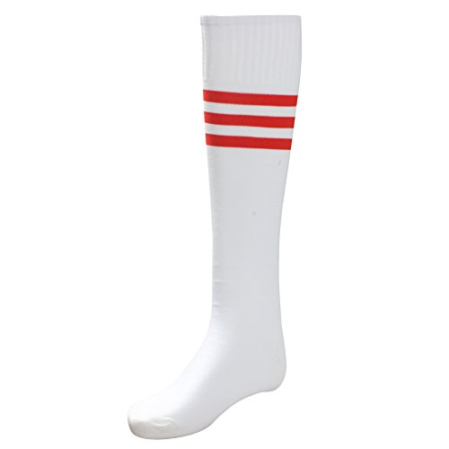 Unisex Athletic High Knee Stripes Sports