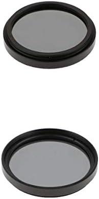 Nikon Canon DSLRカメラレンズ用の2 X 37mm + 40.5mm ND ND4フィルター