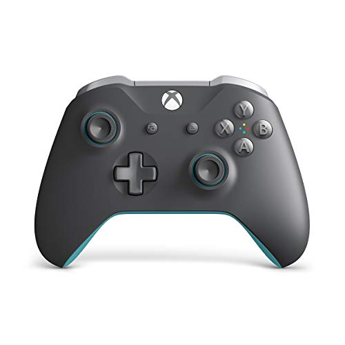 Xbox Wireless Controller - Grey and Blue (Blue Controller)