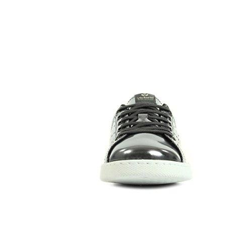 Victoria Deportivo Espejo Metalizado, Zapatillas de Baloncesto para Mujer Argent
