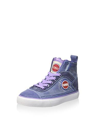 COLMAR - Baskets violettes et lilas en cuir et suède, fille,filles,femme