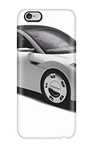 Durable Case For The Iphone 6 Plus- Eco-friendly Retail Packaging(loremo Ls Front Car Grey White Cars Other)