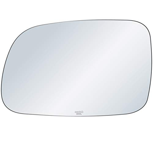 exactafit 8108L Driver Left Side Mirror Glass Replacement fits 1999-2004 Jeep Grand Cherokee by Rugged TUFF