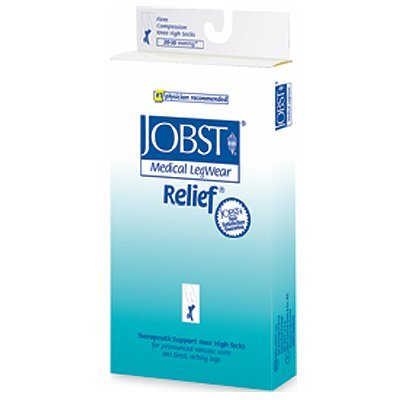 Jobst Relief Medical Legwear, Thigh High Open Toe - 20-30mmHg, Size: XLarge by Rolyn Prest
