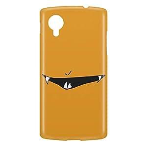 Loud Universe Nexus 5 Smiley Print 3D Wrap Around Case - Orange