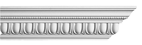 Designer's Edge Millwork DEM-150 Egg And Dart With Beads Crown Moulding 4