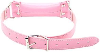 Healifty offener Mundknebel O-Ring weicher Schwamm Mundknebel Bondage Fesseln Knebel für Erwachsene Liebhaber Paare rosa