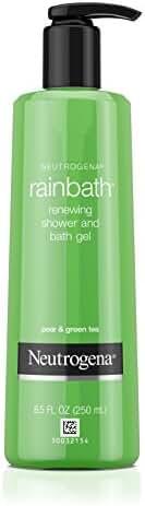 Neutrogena Rainbath Renewing Shower And Bath Gel, Body Wash, Pear & Green Tea, 8.5 Fl. Oz.