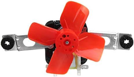 MJJEsports Evaporador Ventilador Motor Kit Refrigerador Evaporador ...