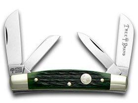 BOKER TREE BRAND Jigged Green Bone Congress Pocket Knife Knives