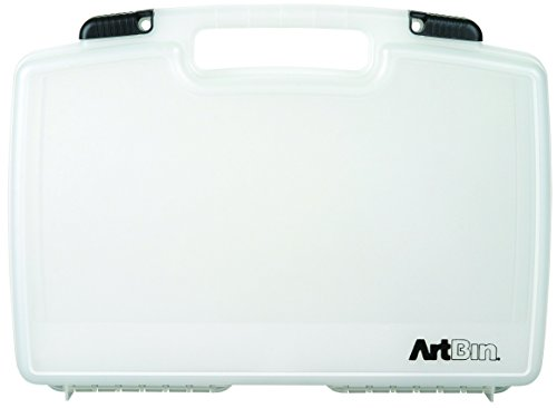Art Bin ARTBIN 8017AB LARGE QUIK-VIEW CARRYING CASE, STANDARD BASE, 17 inch