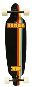 Krown Elite Black Stripe Elite Complete Longboard, 9x36-Inch from KROWN