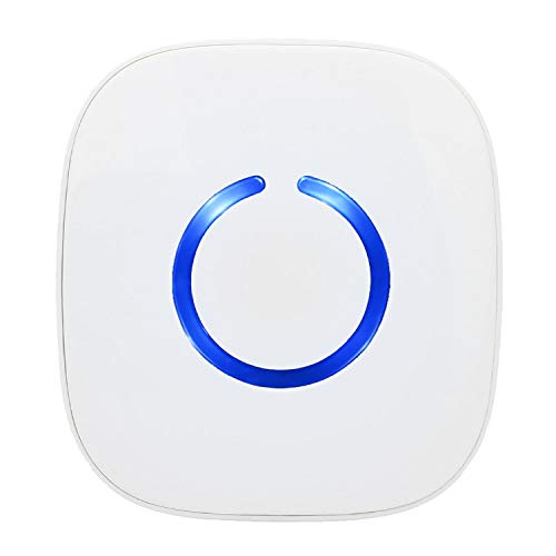 CROSSPOINT Extra Add-On Battery Free Plugin Receiver for the CROSSPOINT Expandable Wireless Doorbell Alert System, Model ER, White