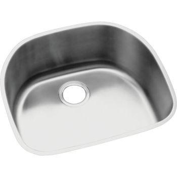 Elkay Lustertone ELUH211810 Single Bowl Undermount Stainless Steel Kitchen (Undermount Group Stainless Steel Sink)