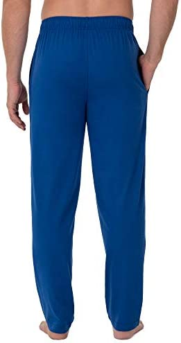 Fruit of the Loom Men's Extended Sizes Jersey Knit Sleep Pant (1 & 2 Packs)