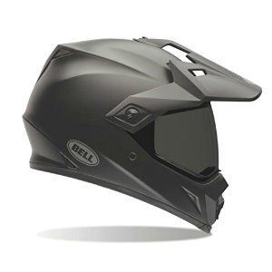 Bell Unisex-Adult Off Road Helmet (Solid Matte Black, X-Large) (MX-9 Adventure D.O.T (Bocca D-ring)