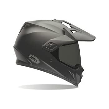 Bell Unisex-Adult Off Road Helmet (Solid Matte Black, Large) (MX-9 Adventure D.O.T certified)
