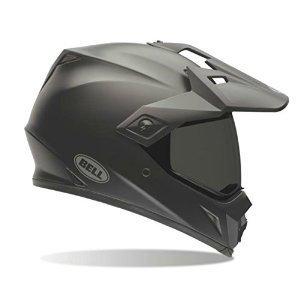 Bell MX-9 Adventure Full-Face Motorcycle Helmet (Solid Matte Black, Large)