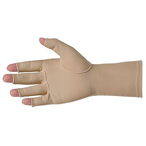 Physical Therapy AIDS Sammons Preston Edema Gloves 2 Left Medium